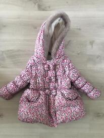 Girls coat 1-1/2 years