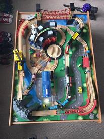 Train Table plus extra trains £100