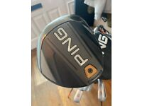 Ping G400 full set. Irons 5-PW plus G400 max driver and 3,5 woods