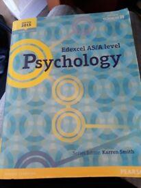 A Level Psychology Text Book - Edexcel