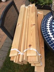 Single bed slats 92.2cm /190 cm , 18mm thick