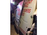 Back doors for renault master van
