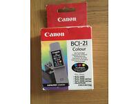 Canon BCI 21 Colour Ink