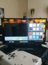 "Bush 40"" SMART LED TV Full HD 1080p Built-In Wi-Fi, MUST GONE TODAY!!!"