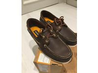 Timberland Boat Shoes uk 9 brown - New