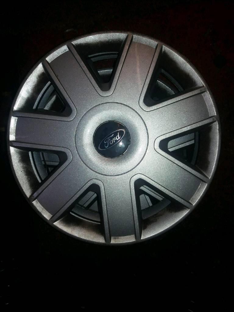 Set Of  Ford Ka Wheel Trims
