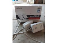 200Mbps Mini PowerLine Adapter Kit. Edimax. Still in box
