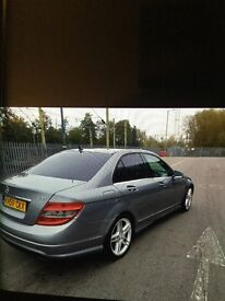 Stunning example of a Mercedes Benz c350 CDI sport amg line all the extras