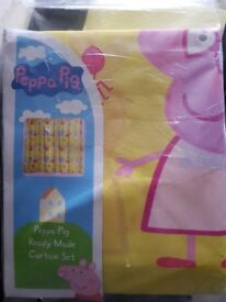 Peppa pig curtains new