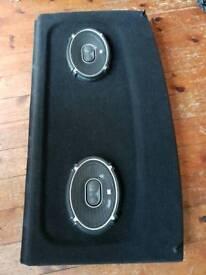 Mk4 Golf parcel shelf with JBL speakers