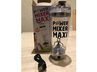 Power mixer maxi shaker electric brand new