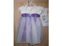 12-18 months Flowergirl dress