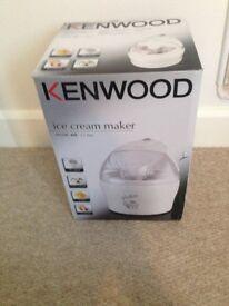 Kenwood icecream maker brand new unopened in box