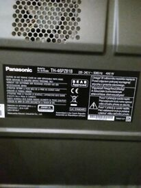 "Panasonic Viera 46"" Plasma TV (TH-46PZ81B)"