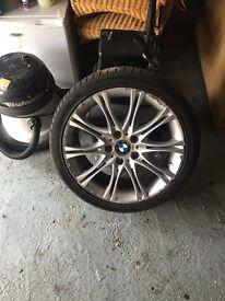 Bmw MV Alloy wheel&Tyre