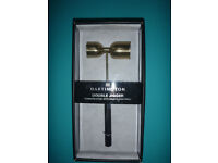 Dartington Double Jigger: New In unopened, sealed box. This jigger measures drinks accurately!