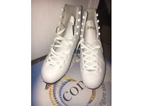 'Concept' Ice skating boots in white