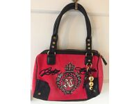 Juicy couture red handbag, excellent condition