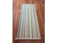 Stripe Roller Blind 60*155cm Like New