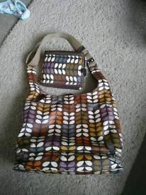 Orla kiely changing bag