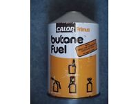 Calor Primus Butane Fuel canisters. 420 grams/14 ½oz. FULL. 10 in total