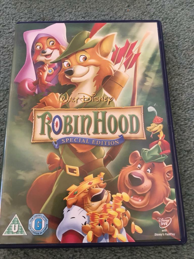 Walt Disney Robin Hood Dvd In Currie Edinburgh Gumtree