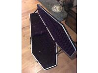 Coffin case electric guitar hard case bournemouth dorset