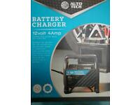12 Volt Car Battery Charger as new never used sealed in box