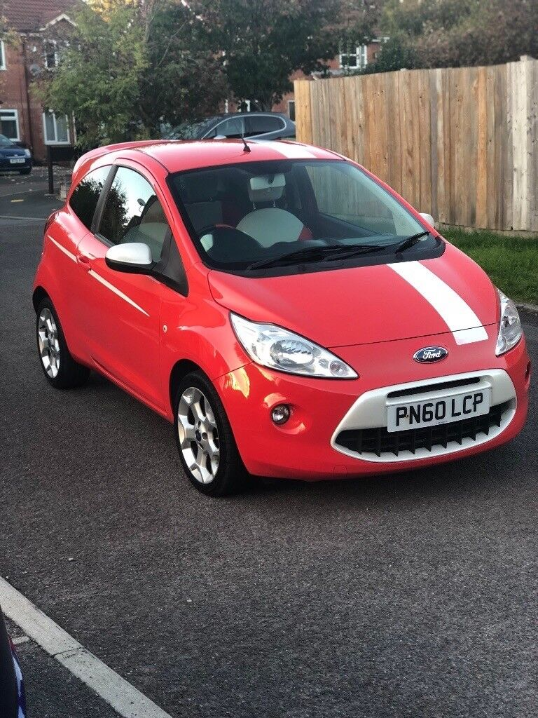 Ford Ka Grand Prix Limited Edition  New Mot Red