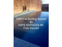 GRP Flat Roofing System