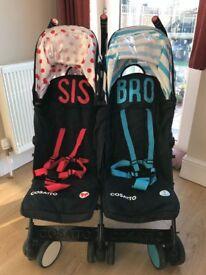 Cosatto Bro Sis double stroller