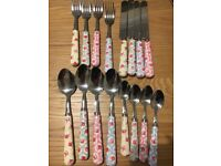 Cath kidston cutlery Provence rose