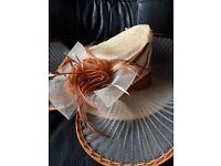 Ladies day races wedding hat