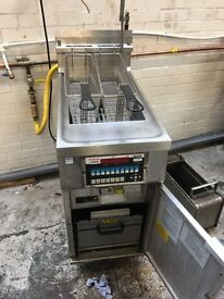 Pitco Fastron Twin Basket Gas Pressure Fryer (not working, sold as seen)