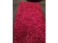 pink fuchsia rug
