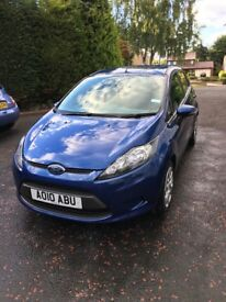 Ford Fiesta 1.25 5 Door Low Milage!