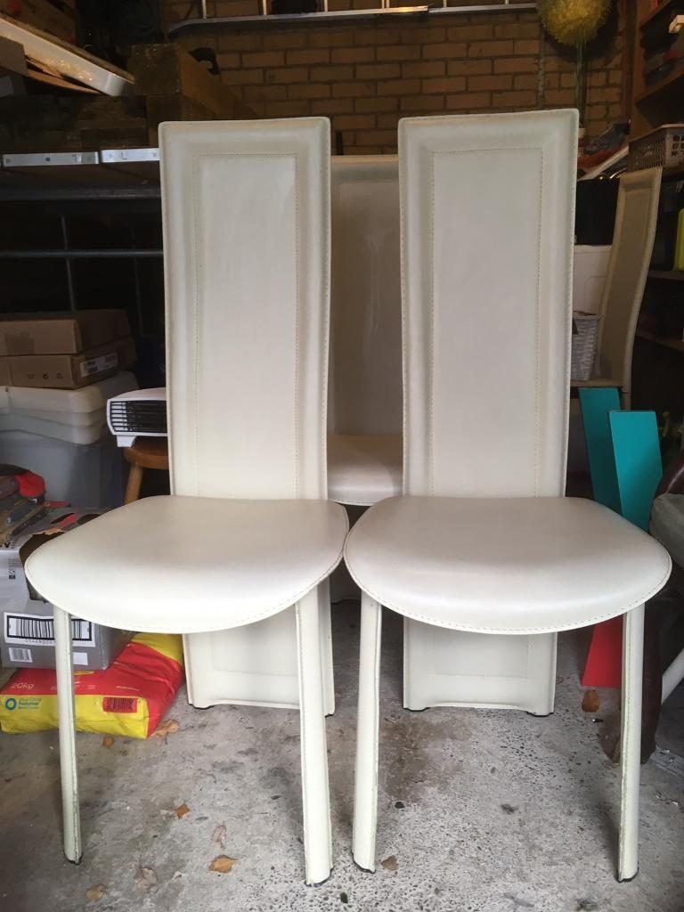 Leather Dining Room Chairs West End