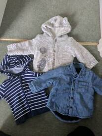 3-6 months jackets and fleeces