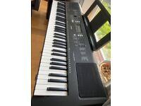 Yamaha Keyboard PSR-EW300 & Stand