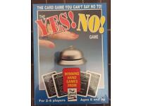 Yes, No Game. New