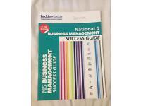 Business management- National 5