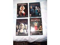 BATTLESTAR GALACTICA DVD'S