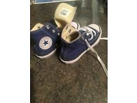 Converse All Stars trainers , size 10