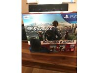 PS4 500gb slim with 2 games and controller all box sealed