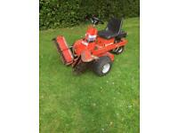 AllenTurf trooper 2 ride on mower triple cylinder