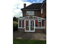 double glazed conservatory - good condition
