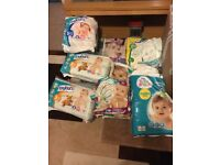 Size 2-6 Baby Nappies