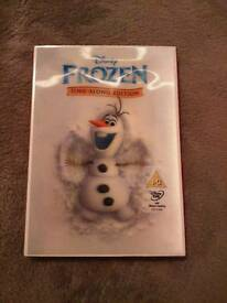 Disney Frozen sing along dvd bnip