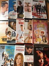Variety of 30 DVD's