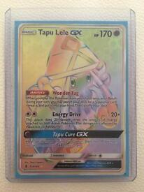 Pokemon Tapu Lele GX full art rainbow (legendary)